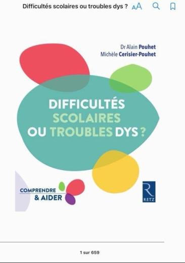 troubles dys ou difficulte scolaire